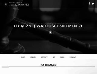 gwiazdowski.pl screenshot