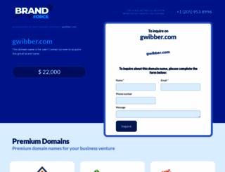 gwibber.com screenshot
