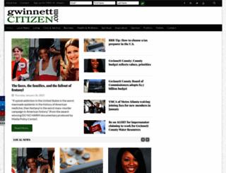 gwinnettcitizen.com screenshot