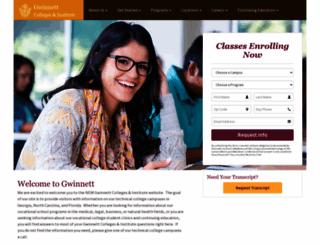 gwinnettcollege.edu screenshot