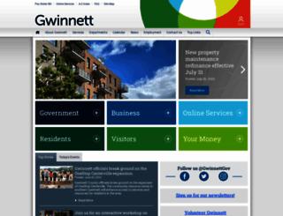 gwinnettcounty.com screenshot