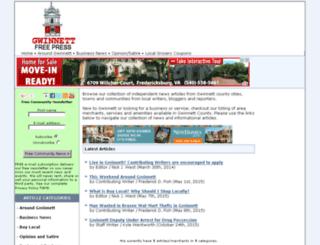 gwinnettfreepress.com screenshot