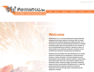 gwmechanical.com screenshot