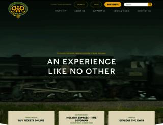gwsr.com screenshot