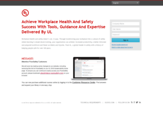 gwssafetytraining.puresafety.com screenshot