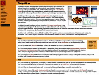 gwyddion.net screenshot