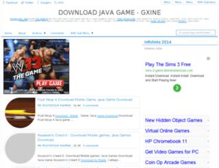 gxine.net screenshot