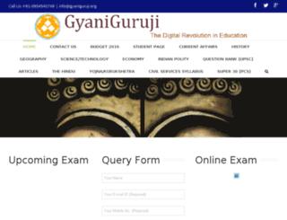 gyaniguruji.org screenshot