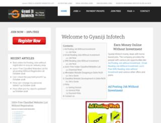 gyaniji.co.in screenshot