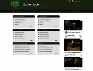 gyanjosh.com screenshot