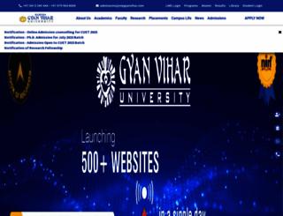 gyanvihar.org screenshot