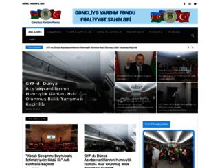 gyf.org.az screenshot