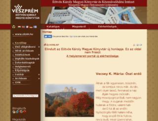 gykregi.ekmk.hu screenshot