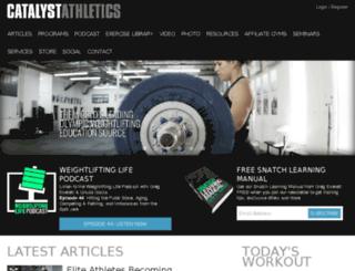 gym.catalystathletics.com screenshot