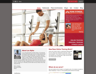 gym.trainerize.com screenshot
