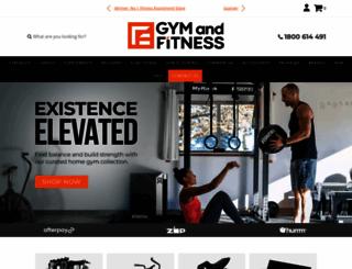 gymandfitness.com.au screenshot