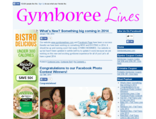 gymboreelines.com screenshot
