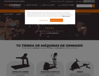 gymcompany.es screenshot