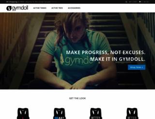 gymdoll.com screenshot