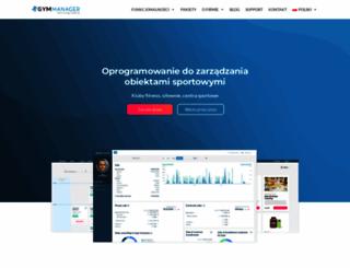 gymmanager.com.pl screenshot