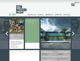 gymnasium-neusiedl.at screenshot