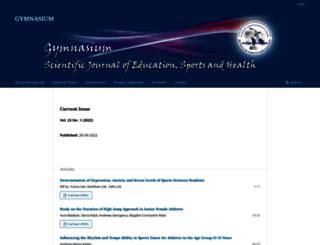 gymnasium.ub.ro screenshot