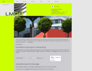 gymnasiumunterhaching.de screenshot