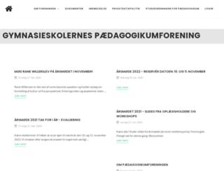 gympf.dk screenshot
