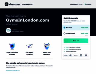 gymsinlondon.com screenshot