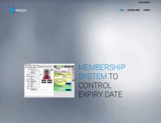 gymsystem.info screenshot