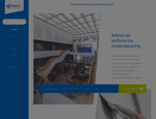 gyproc.nl screenshot