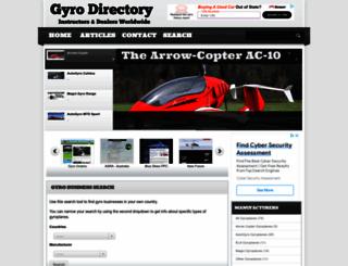 gyro-directory.com screenshot