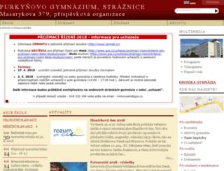 gys.cz screenshot