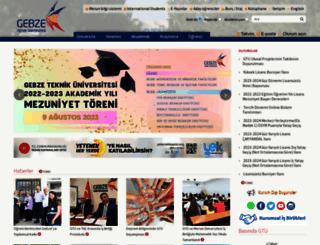 gyte.edu.tr screenshot