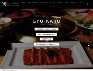 gyu-kaku.com screenshot