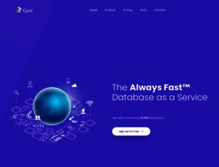 gyxi.com screenshot