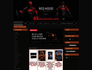 gztoystore.com screenshot