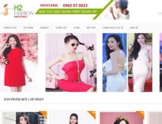 h2fashion.vn screenshot