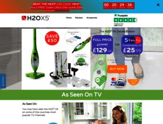h2o-x5.thanedirect.co.uk screenshot