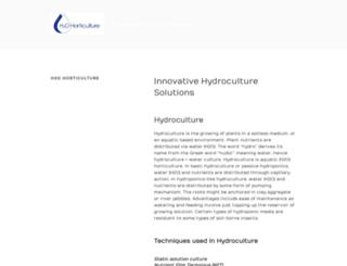 h2ohorticulture.com.au screenshot