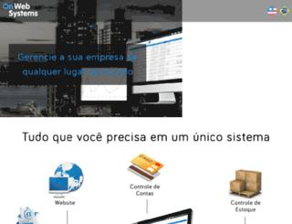 h2orepresentacoes.com screenshot