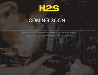 h2s.it screenshot