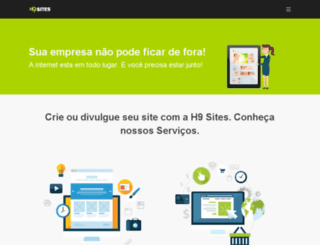 h9sites.com.br screenshot