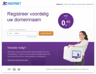 haara.nl screenshot