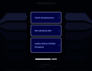 haarcenter24.de screenshot