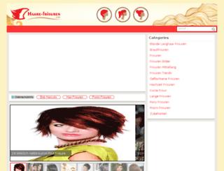 haare-frisuren.com screenshot