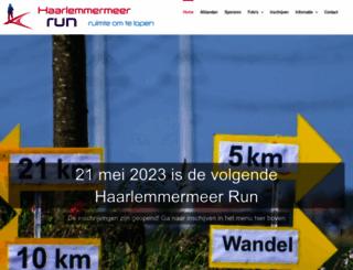 haarlemmermeermarathon.nl screenshot