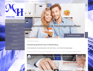 haas-finanzberatung.de screenshot