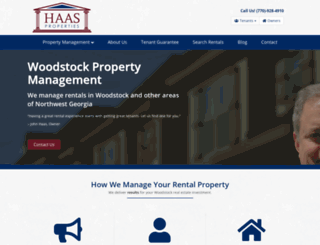 haasproperties.com screenshot
