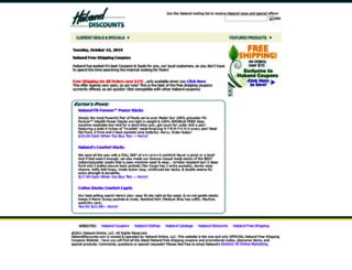 habanddiscounts.com screenshot